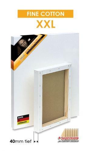 FINE COTTON - XXL - Bespannte Keilrahmen Größe 140x300cm  B01BLF2N70 | Neues Produkt