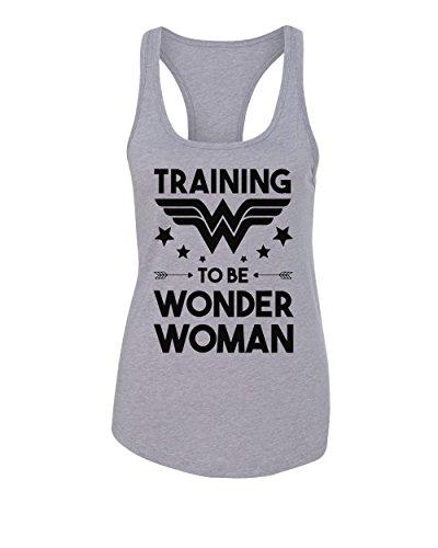 Womens Funny Racerback Tank Top
