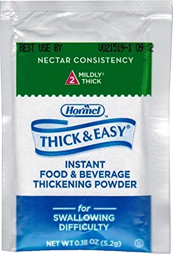 Thick & Easy Instant Food Thickener, Nectar Consistency, 25 individual - Nectar Thickener