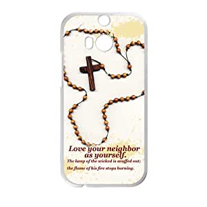 catholic funeral Phone Case for HTC One M8