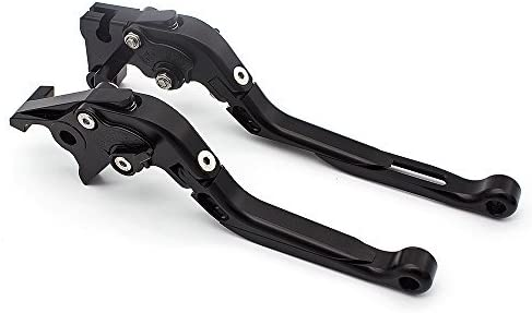 YFZ450 YFZ450R 2008-2018 YFM250 Raptor 2008-2010 FXCNC Racing Billet Folding Extendable Adjustable Brake Clutch Levers set Pair fit for YAMAHA YFM700 Raptor 700 R 2008-2019