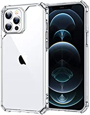 ESR Air Armor Compatible with iPhone 12 Pro Max Case [Military-Grade Drop Protection][Shock-Absorbing Corners]