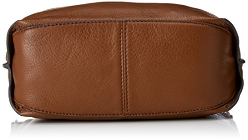 Clarks Damen Topsham Jewel Schultertasche, 10x25x31 cm Braun (Tan Leather)