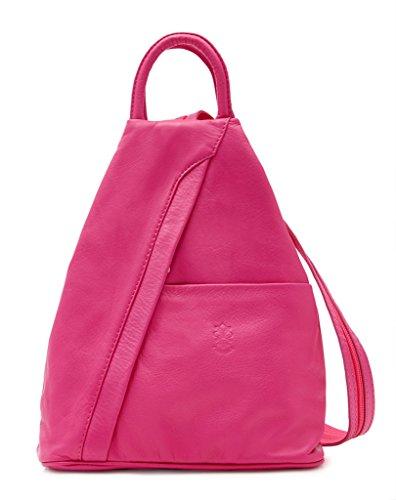 Benagio - Bolso mochila para mujer Rosa