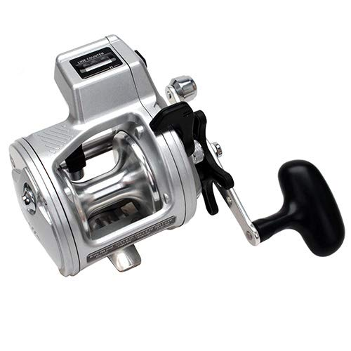 (Daiwa Accudepth Plus-B Line Counter Levelwind Fishing Reel (Silver, 27))