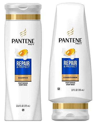 Pantene Repair & Protect Shampoo and Conditioner Set, 12.6 F
