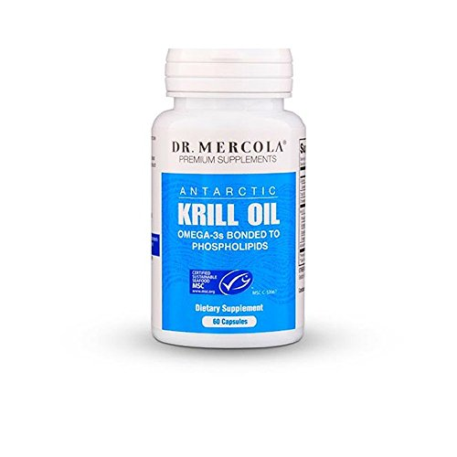 Huile de Krill par Mercola - 60 Capsules