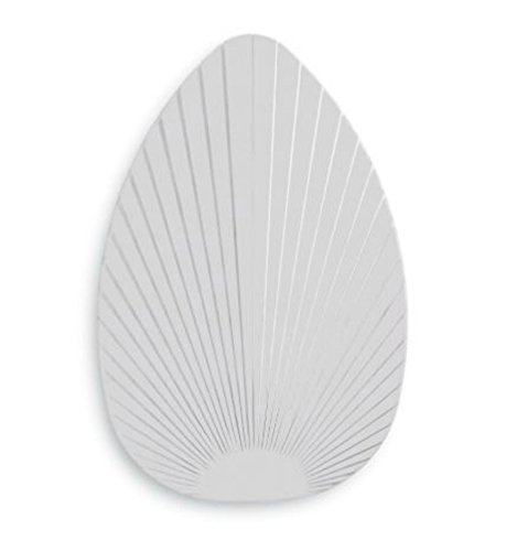 Palm Leaf Ceiling Fan Blades-Set of 5 (Ivory)