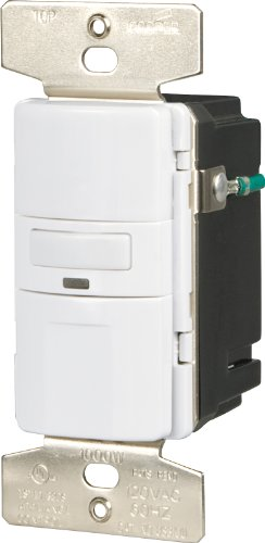 EATON OS310U-W-K Core Savant Motion Sensor Switch, 120 Vac, 60 Hz, 1000 W, Polycarbonate, - Lighting Savant