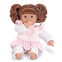 Melissa & Doug Mine to Love Brianna 30.48cm Soft Body Baby Doll with Hair and Outfit
