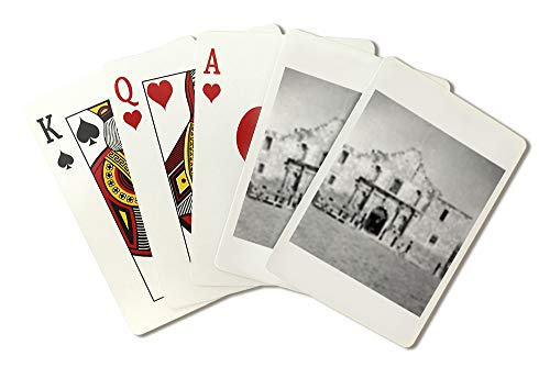The Alamo in San Antonio, TX Photograph #1 (Playing Card Deck - 52 Card Poker Size with Jokers)