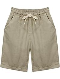 Women's Casual Drawstring Elastic Waist Shorts Pajama Shorts