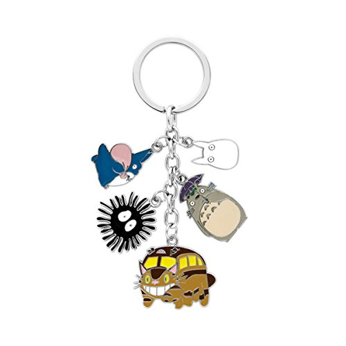 Totoro Keychain Key Ring Anime Manga TV Show Series Auto/Boat House Keys]()
