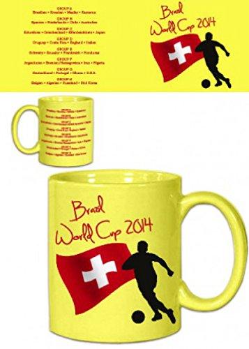Set: Football, Brazil World Cup 2014, Switzerland Flag
