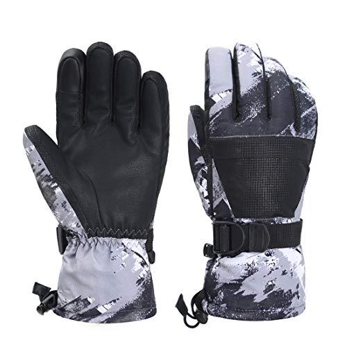 LoveKids Waterproof Warmest Winter Snow Gloves for Boys and Girls Teens Women Men