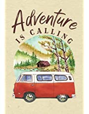 Camping Journal & RV Travel Logbook: A fun travel memory book that offers an easy way to keep track of your adventures