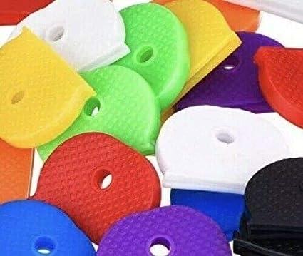 Mixed Colour St@llion 6 Pcs Key Caps Coloured Covers Plastic Top Cap Cover
