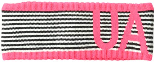 Under Armour Unisex Favorite Band, Black (001)/Penta Pink, One Size by Under Armour