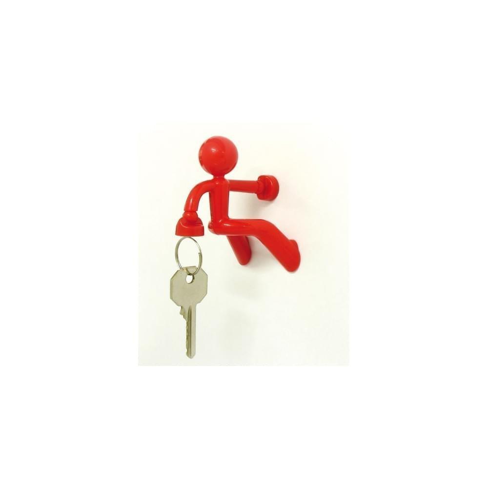 Key Pete Magnetic Key Holder - Red [Kitchen] Luckies of London Ltd PE674