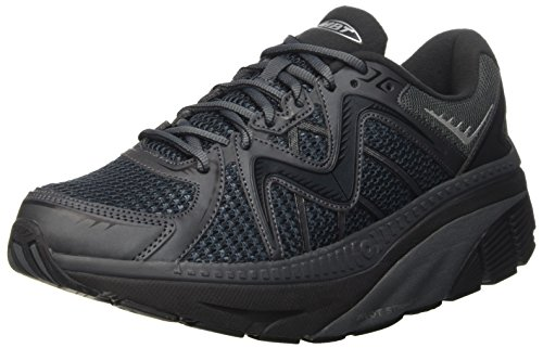 MBT Zee 16, Sneakers para Hombre Multicolor (Black/silver)