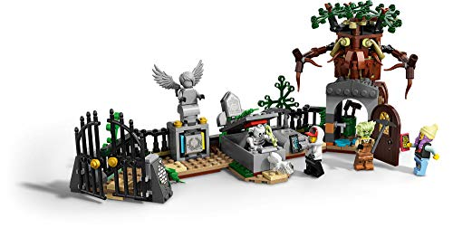 4148ie6P6OL - LEGO Hidden Side Graveyard Mystery 70420 Building Kit, App Toy for 7+ Year Old Boys and Girls, Interactive Augmented Reality Playset, New 2019 (335 Pieces)