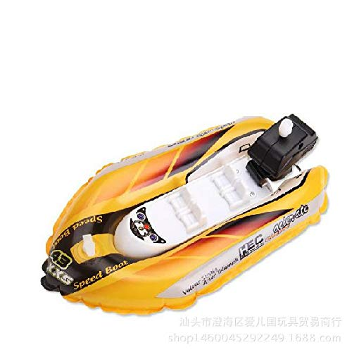 LeadingStar Simulate Inflatable Clockwork Racing Boat Kids S