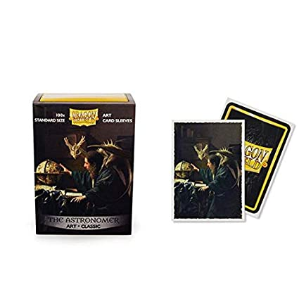 Dragon Shield Classic Art Christmas Dragon Standard Size 100 ct Card Sleeves Individual Pack