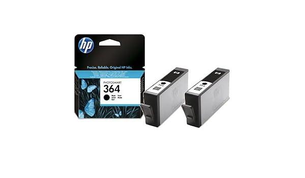 2 x HP 364 cartuchos negro y cartuchos (Pentagon) cartucho de ...