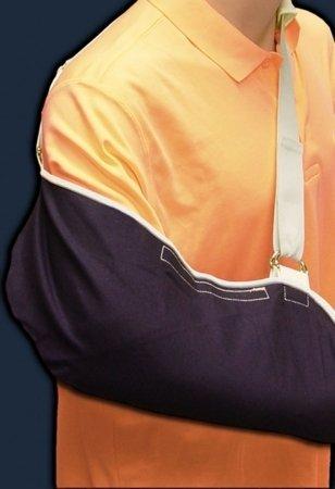 DJO Denim Arm Sling - 324EA - 1 Each / Each Denim Arm Sling