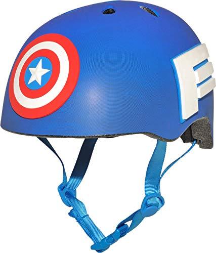 Bell Captain 8034099 America 3D Shield Helmet (Helmet Motorcycle Captain America)