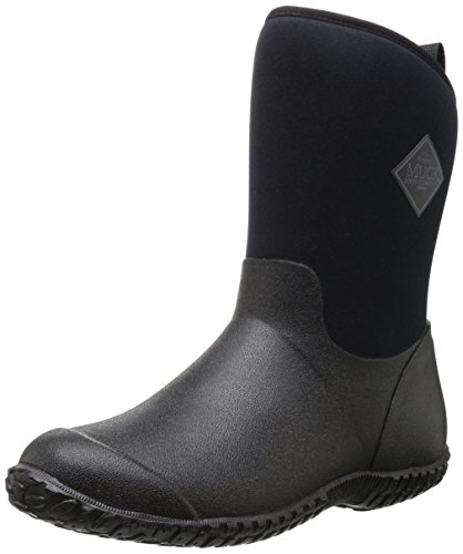 Womans Garden - Muckster ll Mid-Height Women's Rubber Garden Boots, Black, 9 B US