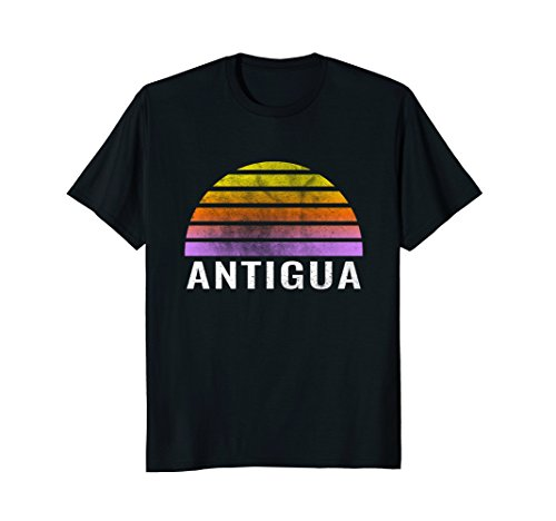 Retro Vintage Antigua Throwback Sunset - Sun Antigua