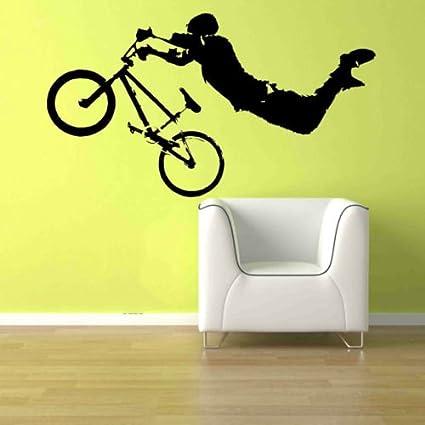 Amazon.com: Giant BMX Bike Bicycle Kid Teen Room Wall Art Removable ...