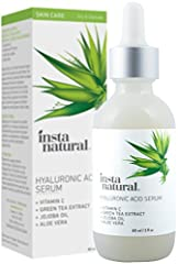 Rediscover a youthful appearance with the most potent formula. InstaNatural's Hyaluronic Acid Serum delivers long-lasting results with many benefits you don't want to miss: - Diminish appearance of wrinkles and fine lines - Repair damaged ski...