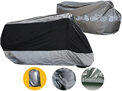 Brightent Motorcycle Cover Outdoor water proof motor bike covers bicycle garden protection