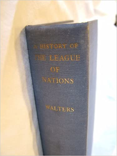 A History of the League of Nations
