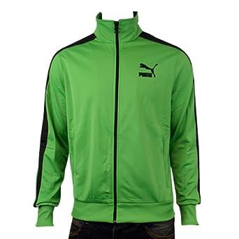 puma trainingsanzug schwarz grün