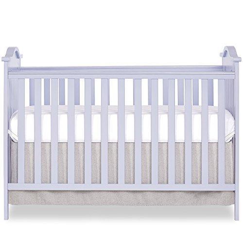 Dream On Me Bella Rose Classic Convertible Crib, Lavender Ice