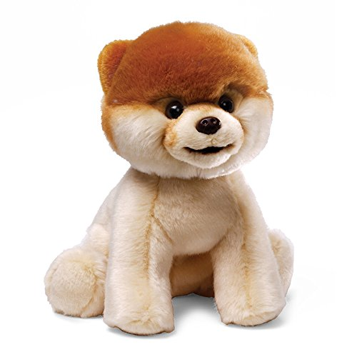 [Gund Boo Plush Stuffed Dog Toy] (Bear Head Costume Amazon)