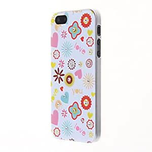 ZXSPACE Colorful Special Design Pattern Back Case for iPhone 5/5S