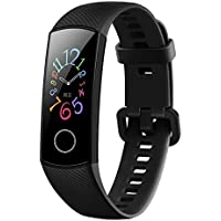 Activity & Fitness Trackers - Honor Band 5 Smartband Standard Version, 0.95 Inch AMOLED Full Color Screen, IP68 50M Waterproof, Real Heart Rate Swimming Sports Tracker True Sleep Monitoring Pedometer