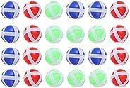 Toyvian 50pcs Kids Sticky Ball for Fabric Dart Board, Dart Hook and Loop Balls, Dart Balls Light Sticky on Dar
