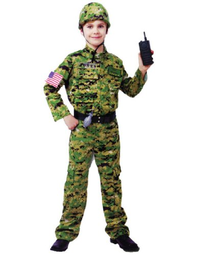Gener (Child Army Costumes)