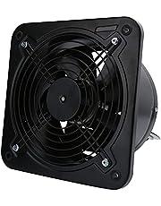Shanrya Ventilador de ventilación, Extractor Negro 3296g para la Cocina de la Sala de Estar del Dormitorio