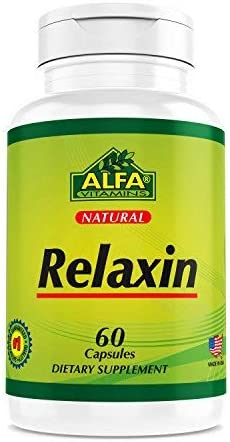 Relaxin 60 Capsules - Nutritional Supplement to Fight Stress, Anxiety and Insomnia