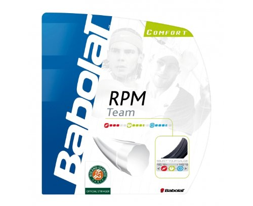 Babolat RPM Team 16 Tennis String - Spin Tester Shopping Results