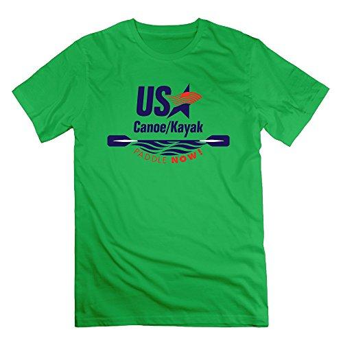 Final Paddle Now Canoe Kayak ForestGreen Men's Sport T Shirt For Men Size XXL