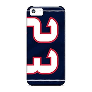 TrevorBahri Apple Iphone 5c Great Hard Cell-phone Cases Allow Personal Design Beautiful Houston Texans Pattern [rrG463SEeb]