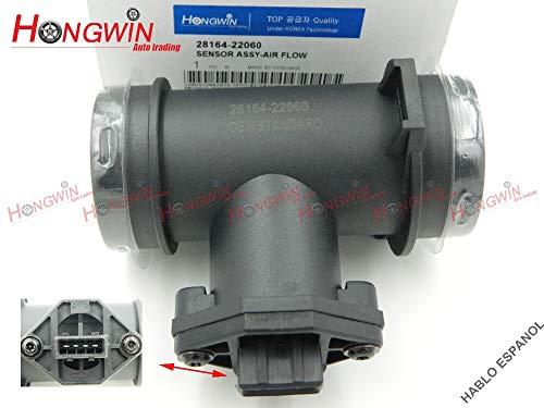 (HW 28164 22060 MAF Meter Mass Air Flow Sensor Fits Hyundai Accent Scoupe 1.5L 93-99 ALFA ROMEO 0280217102,28164)