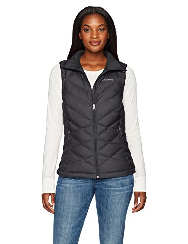 (Columbia Women's Heavenly Vest, Black, Small)
